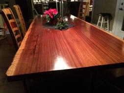 Finished Sapele Wood Slab